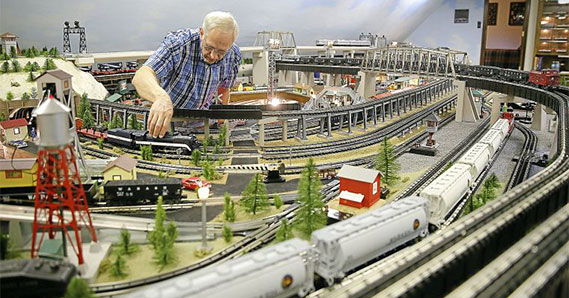 Model trains collection